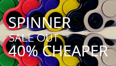 Spiners Sale out